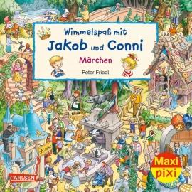Maxi Pixi 377: Wimmelspaß mit Conni und Jakob: Märchen