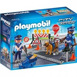 PLAYMOBIL® 6878 - City Action - Polizei-Straßensperre
